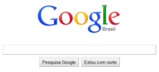 Nova Página Inicial do Google